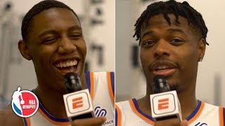 Do fish get thirsty? Is a hotdog a sandwich? The Knicks answer tough questions | NBA on ESPN
