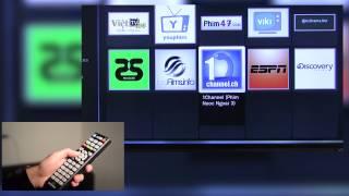 Hướng dẫn sử dụng TV THÔNG MINH