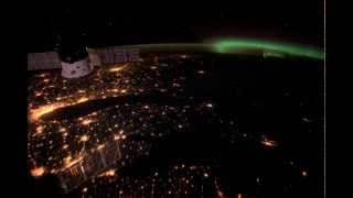 US's East Coast sparkles in space station timelapse