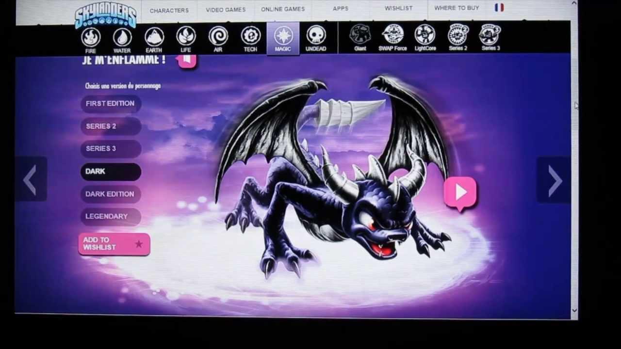 Skylanders swap force tous les nouveaux personnages de la classe magie youtube - Tous les skylanders ...