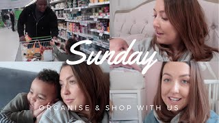SUNDAY | ORGANISE & SHOP WITH US