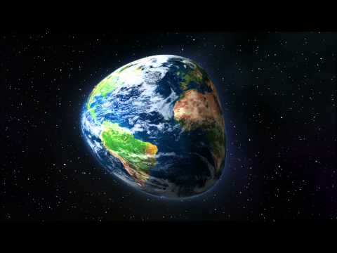 Globe Earth Animation Spinning Around Rotating with Warp After Effect 1080p HD High Definition Video