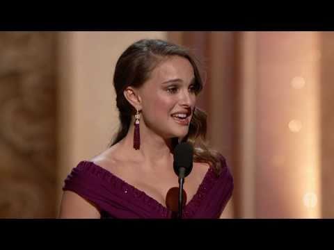 Natalie Portman winning Best Actress