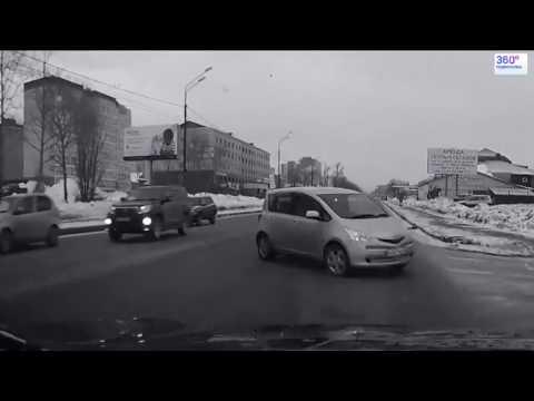 Подборка ДТП и Аварий при повороте