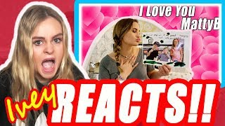 Ivey REACTS To Liv Being In Love With MattyBRaps!