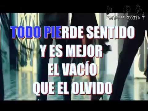 Enrique Iglesias ft  Marco Antonio Solis El Perdedor karaoke