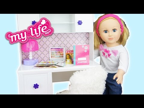 My Life Dolls Desk and Accessories Set Review