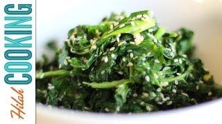 How to Cook Kale | Garlic Kale Recipe | Hilah Cooking
