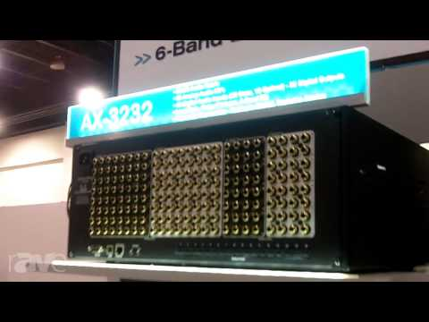 CEDIA 2013: AVocation Systems Brings the AX-3232 Audio Matrix Switcher