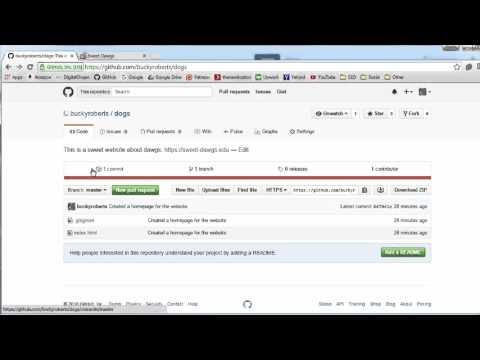 Git Tutorial - 20 - Committing Changes to GitHub