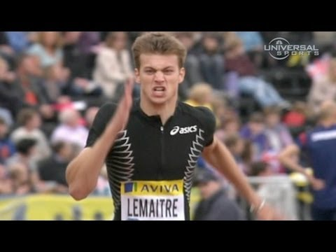 Lemaitre wins 200m in London Diamond League - from Universal Sports
