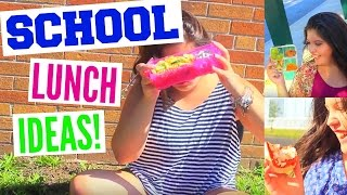 5 Quick & Healthy School Lunch Ideas!