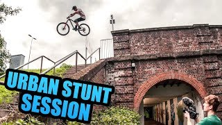 URBAN STUNT SESSION ON THE ENDURO BIKES!