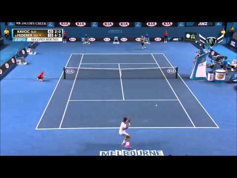 Federer Roger VS. Kavcic Blaz