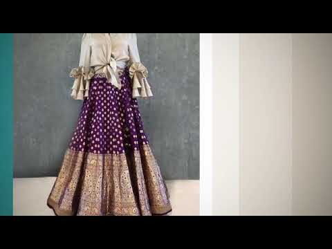 Unique and latest lehenga design|| 2018 ||SK COLLECTION