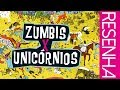 ZUMBIS VS. UNICÓRNIOS (100º VÍDEO!)  | CHICLETE VIOLETA