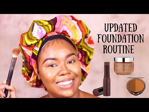 Don't Sleep On Me! 👀 💁🏽‍♀️🙋🏽‍♀️ Flawless Foundation Routine! #fashionfair #flawlessfoundation