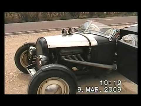 RAT ROD across the Nullabor