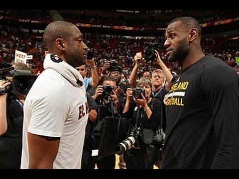 LeBron James Duels Dwyane Wade in Summer League !