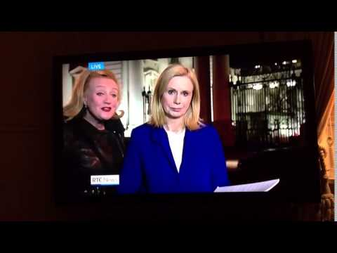 """RTÉ Nine O'Clock News 14/4/16 - """"If voting changed anything, they'd make it illegal"""""""