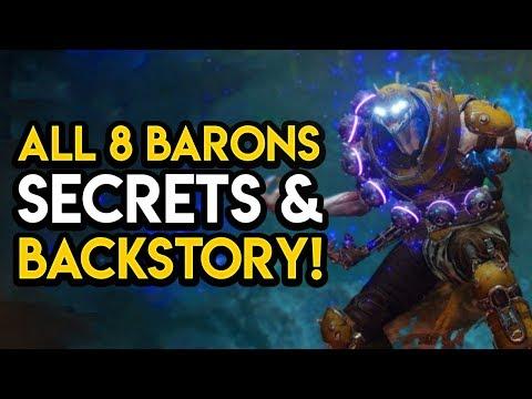 Destiny 2 - ALL BARONS REVEALED! Secrets, Abilities, 3X Valor XP, MORE! thumbnail