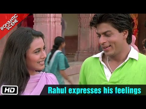 Rahul expresses his feelings - Kuch Kuch Hota Hai - Shahrukh...