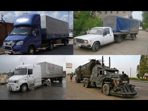 Самый необычный дальнобой в России и Украине.