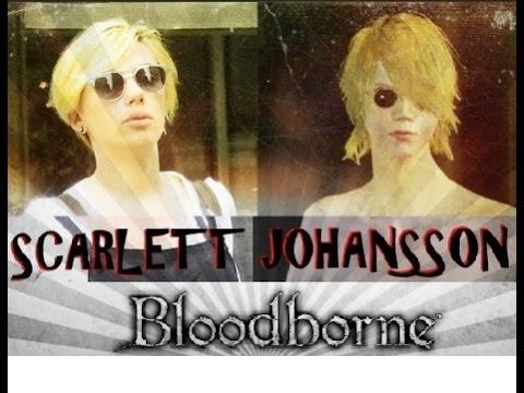 Bloodborne | Creación del personaje. ¿Scarlett Johansson?. Gameplay #1