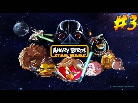 Angry Birds Star Wars прохождение - Серия 3 [Death Star 1-15]