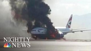 Pilot Who Saved Burning British Airways Flight Was Set to Retire | NBC Nightly News