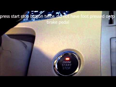 How to reset oil maintenance light 2009 Toyota Avalon