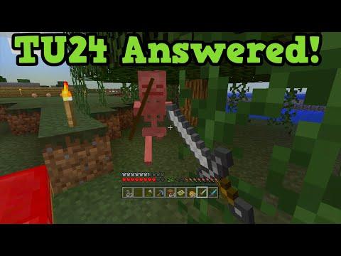 Minecraft Xbox 360 + PS3 TU24 QnA - 1.9 & Water Temples