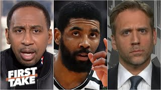 Stephen A. defends Kyrie Irving's intelligence to Max Kellerman | First Take