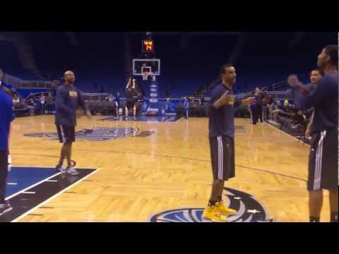 Indiana Pacers Paul George, George Hill, and Lance Stephenson pregame
