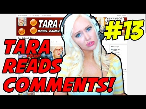 TARA READS COMMENTS! #13 - Foot Porn!