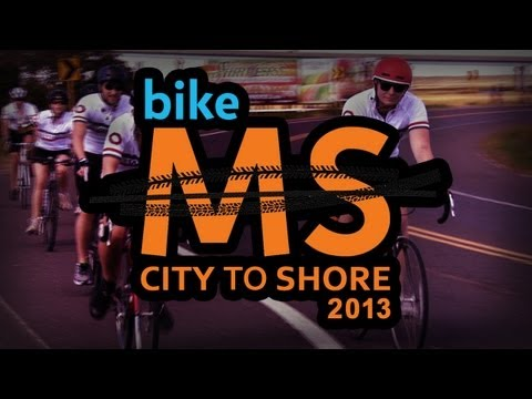 Bike MS City to Shore 2013
