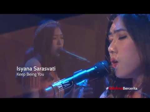download lagu Isyana Sarasvati - Keep being you (live) at Ciputra Artpreneur gratis
