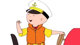 Caillou Full Episodes | Captain Caillou | Cartoon Movie | WATCH ONLINE | Cartoons for Kids