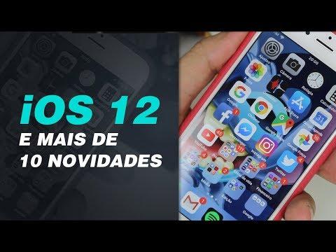 10 NOVIDADES DO IOS 12 VERSÃO OFICIAL (NO IPHONE 6S) | Papo Tech