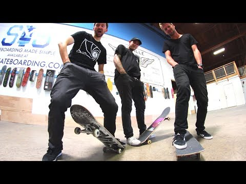 HANDS IN POCKETS GAME OF SKATE! | STUPID SKATE EP 111
