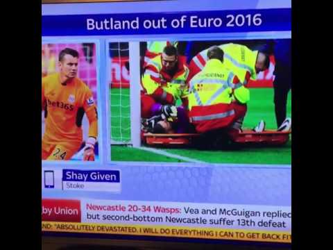 Prankster Caller on Sky Sports News Pretends to Be Shay Given on Live TV | Hilarious!