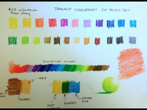 Derwent Coloursoft Pencil Review