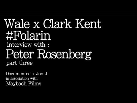 Wale & Dj Clark Kent Folarin Mixtape Interview With Peter Rosenberg! (Part 3)