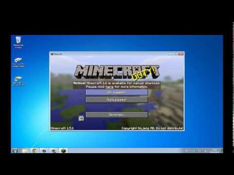 Descargar Minecraft 1.5.2 Pirata Actualizable