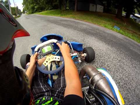First Reaction to my new shifter kart