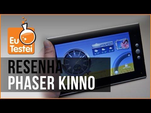 Tablet Phaser Kinno PC-719 - Resenha Brasil