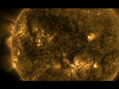 Coronal Heating Problem, Space Weather | S0 News August 25, 2015