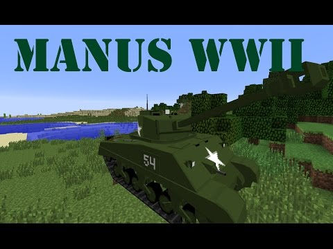 Flans Manus World War II Content Pack