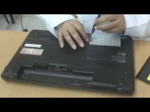 Video Tutorial - Armado y Desarmado de una laptop Sony VAIO