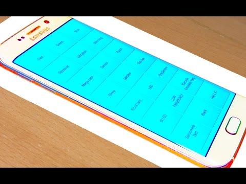 How to Access Secret Hidden Service Test Menu Samsung Galaxy S6